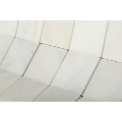 Asian Statuary 2x2 Honed Marble Tile