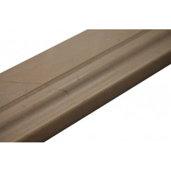 "Base Molding Crema Marfil 4.75"" X 12"" Marble Liner"