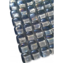 Gaby Blanco Bubble Glass Tiles  (Meshless)