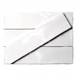 Lancaster 3x12 Bianco Ceramic Tile