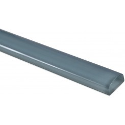 Blue Gray Polished Glass Pencil Liners