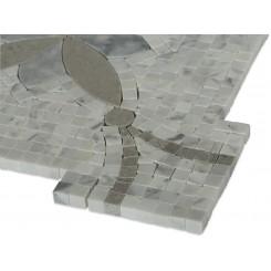 Botanical Sparrow Marble Tile