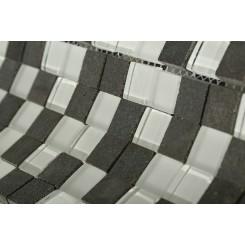 "Breeze Basalt Ice Pattern 3/4"" X 3/4"" Squares"