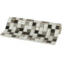 "Breeze Steel Ice Pattern 3/4"" X 3/4"" Squares"