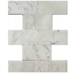 Speranza Carrera 3x6 Polished Marble Tile