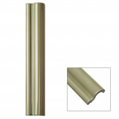 Piccadilly Celery Polished Ceramic Chair Rail Liners