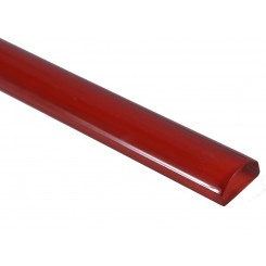 Cherry Red Polished Glass Pencil Liners