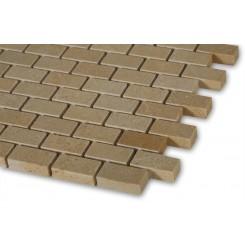 Jerusalem Gold 1/2 X 1  Classic Brick Marble Tiles