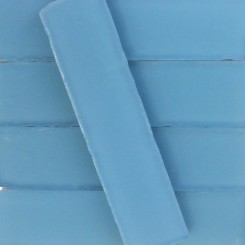Coastal Rain 2x8 Beached Frosted Glass Tiles