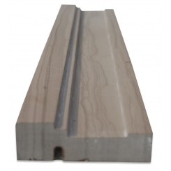 Chair Rail Athens Gray Honed Marble Tile Liner