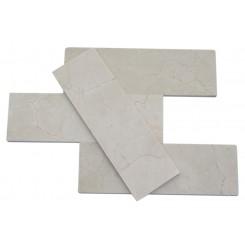Crema Marfil 4 X 12 Marble Mosaic Tiles