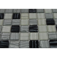 Terrene Zodiac Blend 1x1 Glass Tiles