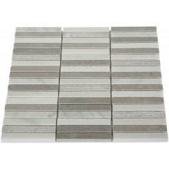 Esker Portland Gray Bricks Marble Tile