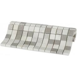 Esker Portland Gray Squares Marble Tile