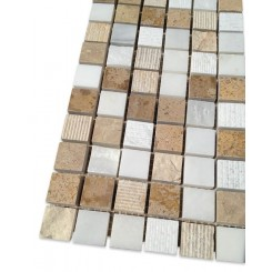 Esker Navajo Sand Squares Marble Tile