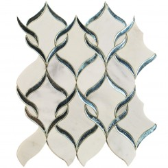 Highland Serenity Glass and Marble Tile