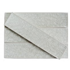Roman Collection Frosty Morning 2x8 Glass Tile