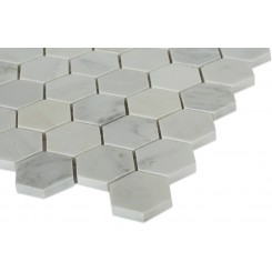 Sample-Asian Statuary Hexagon Tile Sample