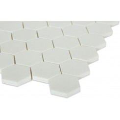 Sample-White Thassos Hexagon Tile Sample