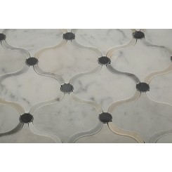 Highland Arabian Carrera Marble Tile