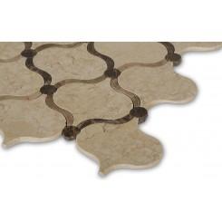 Highland Arabian Crema & Emperador Marble Tile