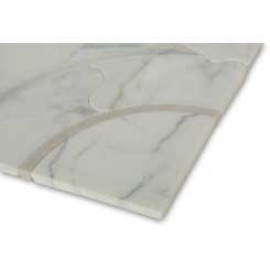 Highland Emberglow Marble Tile