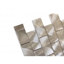 Industrial 2x4 Silver Aluminum Tile