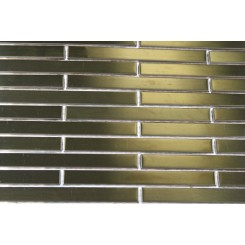 Metal Copper Stainless Steel 3/8x4 Stick Brick Tiles