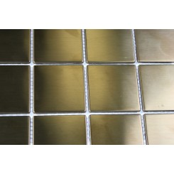 Metal Copper Stainless Steel 2x2 Squares Tiles