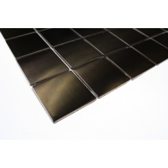 Metal Rose Stainless Steel 2x2 Square Tiles
