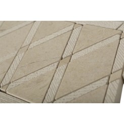 Imperial Textured Crema Marfil Border
