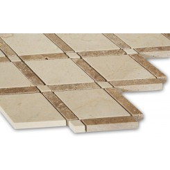 Imperial Gingersnaps Blend Marble Tile