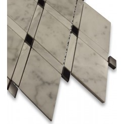 Imperial Pavo Blend Marble Tile