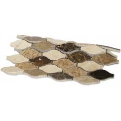 Iota Thistle Seed Marble Tile