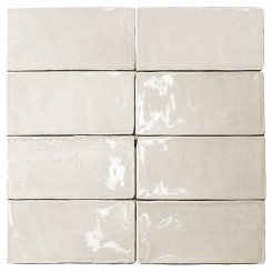 Lancaster 3x6 Vanilla Polished Ceramic Tile