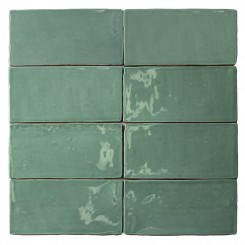 Lancaster 3x6 Open Seas Polished Ceramic Tile