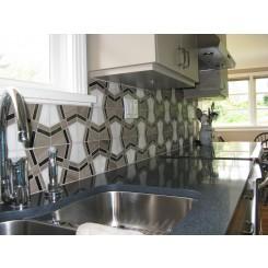 Kaleidoscope Smokehouse Marble Tile