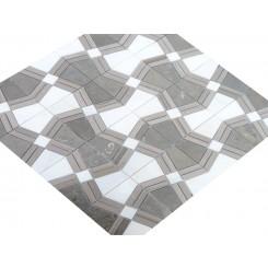 Kaleidoscope Ecru Marble Tile