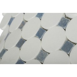 Kinetic Satellite Pattern Marble Tiles