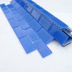 Loft Dusk Blue 1 x 2 Glass Tiles