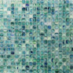 Celeste Summery Bloom Glass Tile