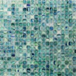 Celeste Summery Bloom Glass Tile