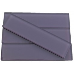 Loft Lilac 2x8 Polished Glass Tiles