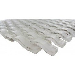 Loft Curve Super White Glass Tile