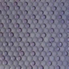 Loft Lilac Penny Round Glass Tiles