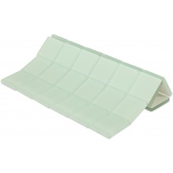 Loft Seafoam Frosted 2 X 2 Glass Tiles