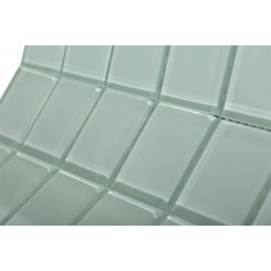 Loft Seafoam Polished 2 X 2 Glass Tiles