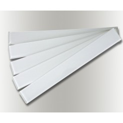 Loft Horizon Super White Polished 2x16 Glass Tile
