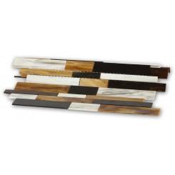 Matchstix Meadowlark Glass Tile
