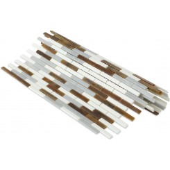 Matchstix Precipice Glass Tile